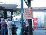 Continua la protesta dei dipendenti dell'ex stabilimento di birra Peroni