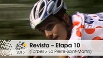 Revista - 40th anniversary of the Polka-Dot Jersey - Etapa 10 (Tarbes > La Pierre-Saint-Martin) - Tour de France 2015