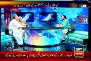 ARY 11Hour Waseem Badami with MQM Waseem Akhtar (13 July 2015)