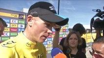 Cyclisme - Tour de France : Froome «Un scénario de rêve»