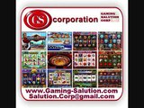 ► Factory ► Slots Machine, Gaming Machine, Video Games, Consoles ► GS Gaming Salution Corp
