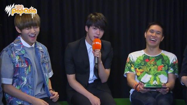 BTS fan chat at SBS PopAsia HQ Türkçe Altyazılı