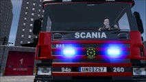 GTA IV Scania 94D 260 BAS1 Greater Stockholm Fire Brigade Release