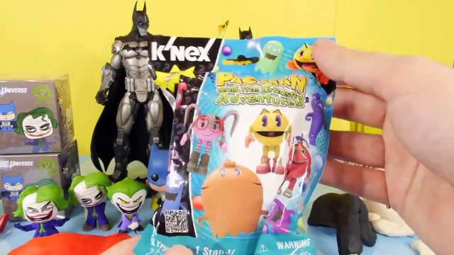 Play Doh Surprise Egg Harley Quinn DC Universe Mystery Mini Opening Funko Pop Female Heroes Unboxing