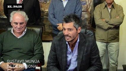 OVACIÓN- Presentación de Gustavo Munúa  como Dt de Nacional