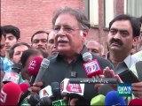 Pervez Rashid advises Altaf to quit delivering speeches ad lib