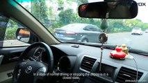 Car Parking Sensor System,Automatic Flip LCD Display Reverse Backup Radar 4 Sensors Assistance