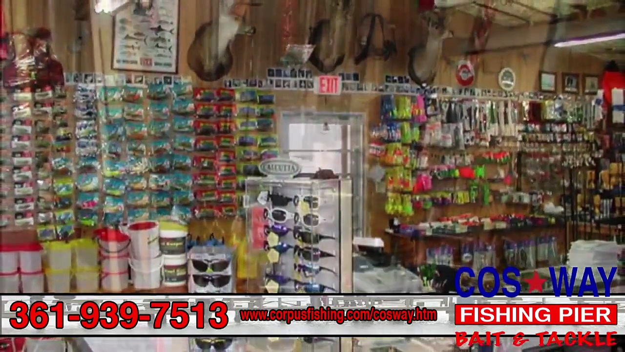 Cos-Way Fishing Pier, Bait & Tackle | Lighted Pier w/ Full Bait & Tackle Shop in Corpus Christi, TX