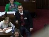Jugend im Parlament - Debatte zur Wahl 2011 - Teil 2 von 11