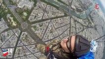 14 juillet : L'arrivée du premier parachutiste militaire français