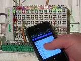 PLCLink domotique avec l'iPhone et un automate Wago
