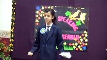 Aida Ross Wins Kedah State Public Speaking Competition-- impromptu speech (2008)