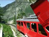 Chamonix ... A Ride on The Montevers Mountain Railway to see the Mer de Glace Glacier