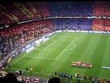 Himno del Barça en Barça-Madrid