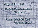381st BG - Mission #172 - Aug '44 - Brest Area