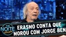 Exclusivo web: Erasmo Carlos relembra quando morou com Jorge Ben Jor
