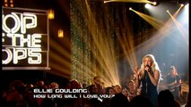 Ellie Goulding - How Long Will I Love You - Top of the Pops Christmas - 25th December 2013