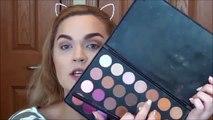 Wearable Warm Smokey Eye Makeup Tutorial | Jaclyn Hill Favorites Palette