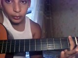 Cheb khaled Bakhta guitar lessons maroc 2015