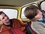Trabant on two wheels (Trab-akrobatika promo)