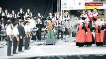 Carhaix. Bretagne et Réunion unies en clôture du festival Bagadañs