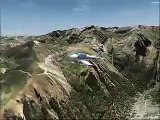 France VFR eastern french Pyrenees