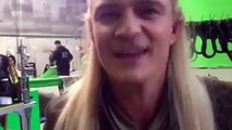 Goodbye Orlando - Taking the Hobbits to Isengard singing by Orlando Bloom
