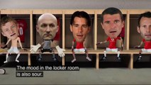David Beckham VS. Alex Ferguson Manchester United - Funny animation