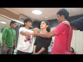 Tapu Sena Practicing For Dance Performance | Sab Ke Anokhe Awards 2015 | Behind The Scene