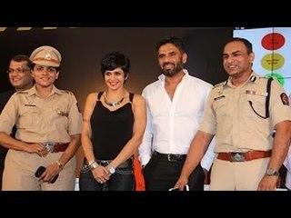 Sunil Shetty, Mandira Bedi @ Street Safe Campaign Launch