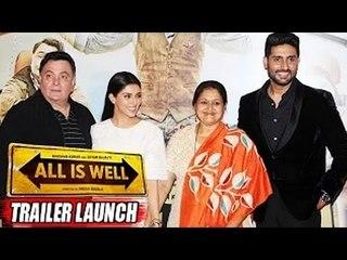 All Is Well Trailer Launch (Uncut) | Abhishek Bachchan, Rishi Kapoor, Asin
