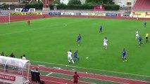 Marcel Ndjeng inscrit un but d'une reprise de volée de 45 mètres