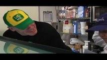WWE's John Cena & wish kid Derek at Cold Stone HQ for Make-A-Wish Foundation®