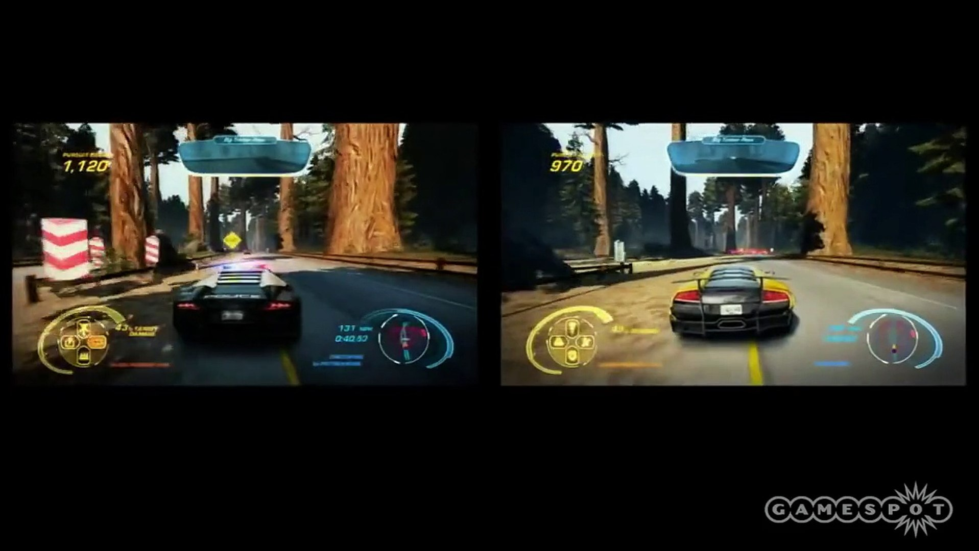 Need For Speed Hot Pursuit Multiplayer Split Screen Gameplay
