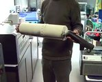 Laser CO2 - Marquage d'un pot d'échappement de moto avec un laser co2 Epilog Legend 36EXT