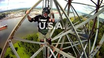 Nuclear Tower _ USA Base Jumps _ Base Dreams