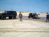 Silver Lake Sand Dunes Stuck in the Sinkhole 4_2_11