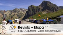 Revista - Le Tourmalet - Etapa 11 (Pau > Cauterets - Vallée de Saint-Savin) - Tour de France 2015