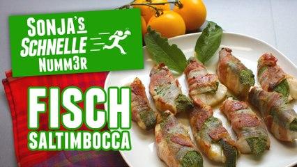 Fisch-Saltimbocca - Rezept (Sonja's Schnelle Nummer #72)