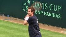 Coupe Davis 2015 : Andy Murray vu par les Bleus