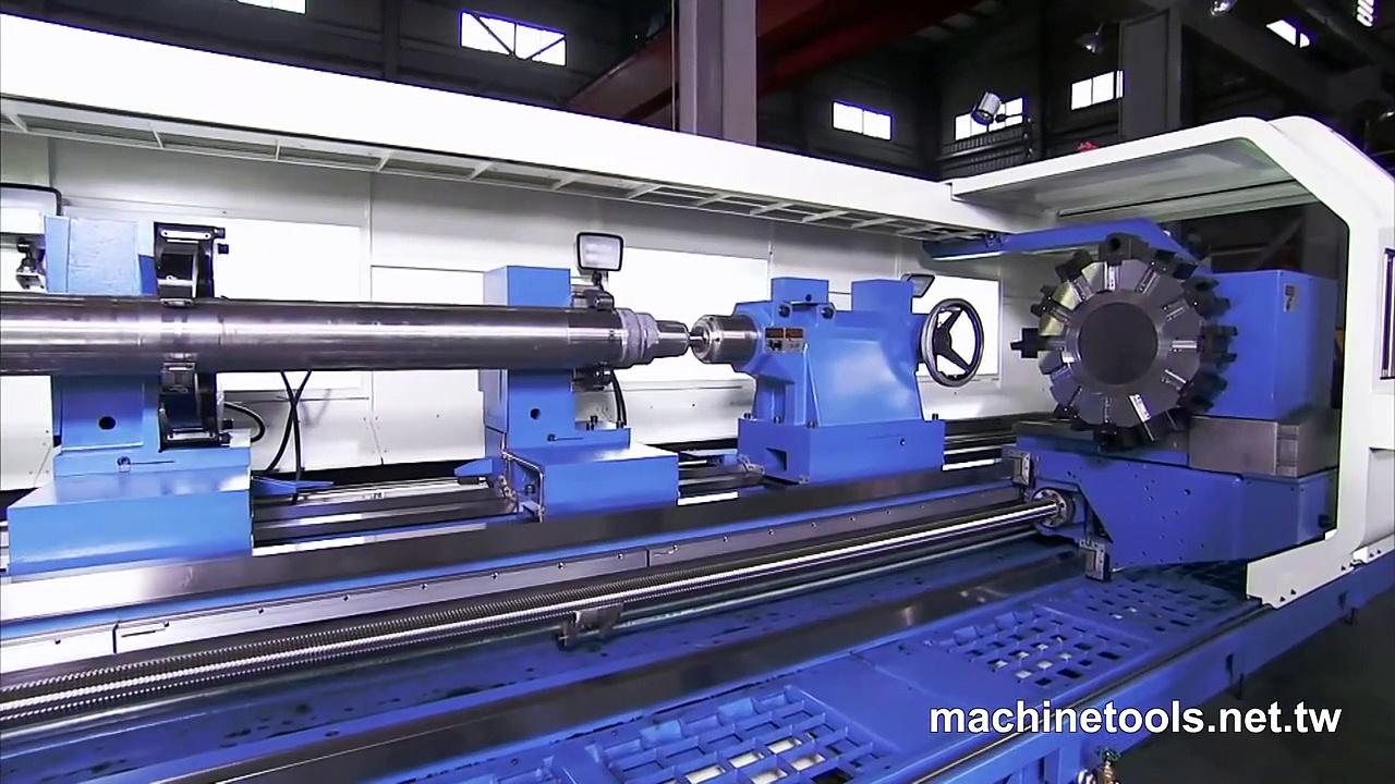 Heavy Duty Lathe/Heavy Duty Precision Lathe/Lathe Machine/CNC Lathe/Lathe  – HD Video by S&J Corp.
