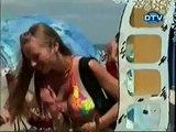 apanhados (na praia)