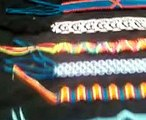 Como Hacer Pulseras o Manillas Con Chaquira / Hilos / Macrame - How to make different bracelets.mp4