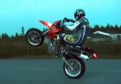 KTM 660 Long Wheelie