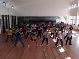 Ensaios Flashmob Ler a Dançar. Escola Secundária Gonçalves Zarco