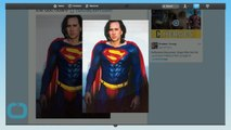 Check Out Nicolas Cage In Costume As Superman