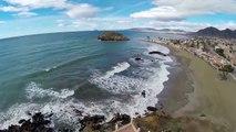 Playas de Nares y Playa Grande en Puerto de Mazarrón - Murcia