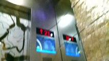 [HD Video]荃灣萬景峰富士達升降機;Fujitec elevator @Vision City, Tsuen Wan
