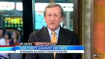 Un agent de sûreté aéroportuaire vole un iPad - TSA Agent Gets Caught Stealing IPad!