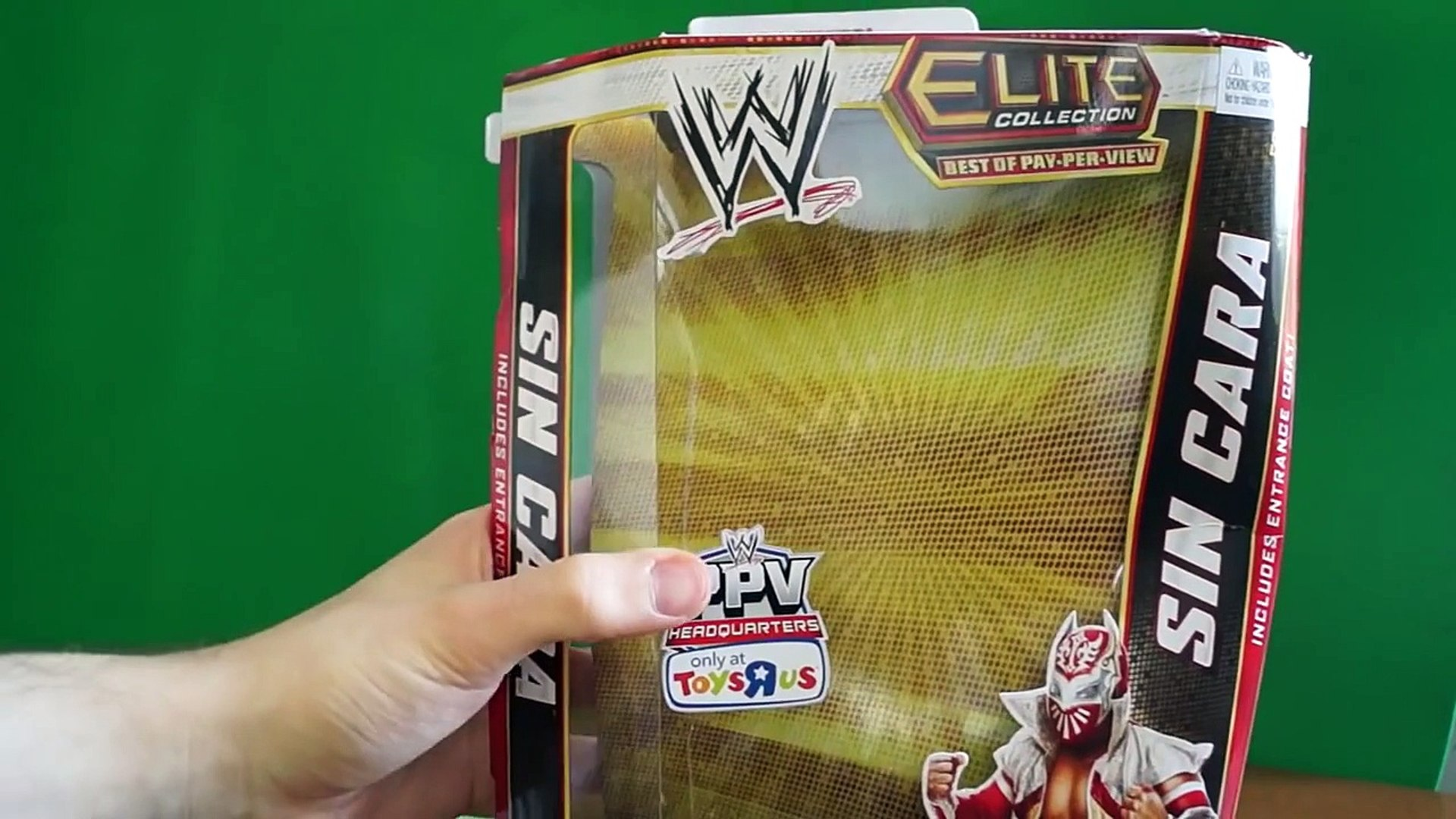 Sin Cara BOPPV WWE Mattel Elite Toys R Us Exclusive Unboxing & Review!!